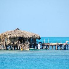 Floyds Pelican Beach bar.....South Coast, Jamaica