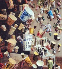 Anthropologie window display in London - Crafts ahead!
