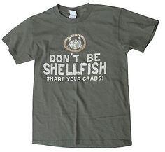 Joe's Crab Shack Share Your Crabs Shellfish T-shirt S