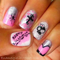 Cool!!! Except the spider.... and the happy halloween lol