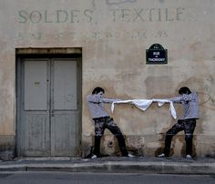 Levalet, street-art, Paris
