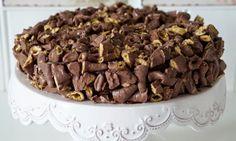 Denne kaken har alt! Kontraster i smak og konsistens. Den søte kaken og den salte Smashen gjør a...