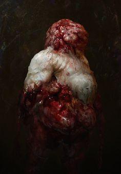 Necromorph 7 by Chenthooran