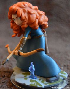 DISNEY INFINITY'S PRINCESS MERIDA ----- Setting Our Sights on Archery | LearningByKids.com