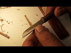 Qalam Crafting - The Art of Creating a Calligraphy Pen. [8-min] - YouTube