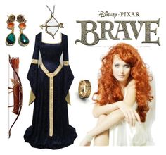 Monarch of the glen by ida-mccosh on Polyvore featuring Merida and Disney