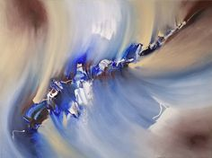 """Saatchi Art is pleased to offer the painting, """"Galaxy (FEATURED),"""" by Laura B, available for purchase at $1.000 USD. Original Painting: Acrylic on Canvas. Size is 23.6 H x 31.5 W x 0.6 in. #water #sea #ocean #originalartwork #waves #beach #universe #coastalartwork Acrylic Colors, Acrylic Art, Acrylic Painting Canvas, Original Artwork, Original Paintings, Abstract Painters, White Acrylics, Abstract Styles, Contemporary Paintings"""