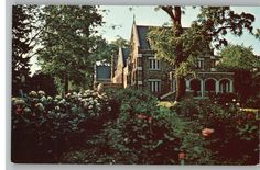 All Saint's Convent, Catonsville, MD---I used to go here for silent retreats when it was still an Episcopal Convent.