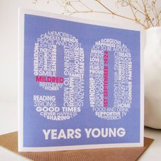 Personalised 90th Birthday Card Cards 90 Parties