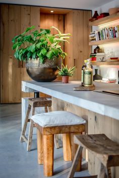 Villa W - Francois Hannes Home Interior Design, Interior Styling, Bahay Kubo, Eindhoven, Starter Home, Villa Design, Design Design, Simple House, Home Renovation