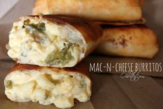 It's a Mac-n-Cheese burrito, which I think we can all agree is what we've all been waiting for.