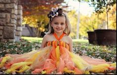 Charm City Chic Couture Boutique find us on Facebook! fall tutudress & Ott bow modeled by: Jenna Lynn