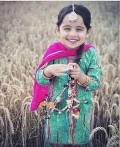 Cute Kids, Cute Babies, Kids Zone, Girls Dpz, Punjabi Suits, Traditional Dresses, Cute Dresses, Kids Fashion, Culture