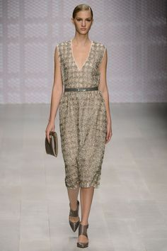 Daks #ss2013 One of the classic English labels, they've also modernized and have some great pieces. The dress doesn't look spectacular but I think combined with the right shoes, it wears beautifully