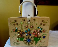 Vintage 1960's Enid Collins Flower Cart Box by HipVintageSoul, $75.00