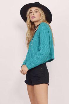 Sweaters, Tobi, Jade Just Chillin' Sweater