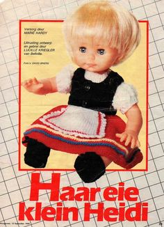 Heidi outfit, Husigenoot 13 Sep 1984 page 22.