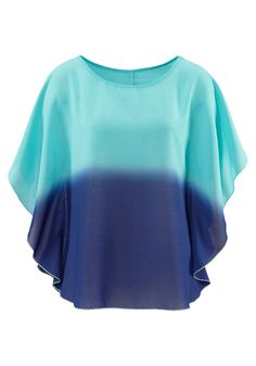 Shop for Sale Dip Dye Tops, Shops, Bikinis For Sale, Holiday Fashion, Bell Sleeve Top, Swimsuits, Casual, Turquoise, Sea