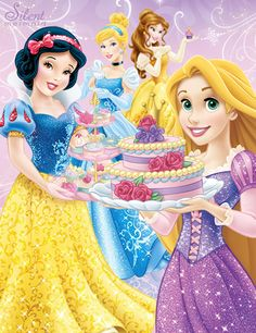 Disney Princesses - Royal Party by SilentMermaid21 on DeviantArt