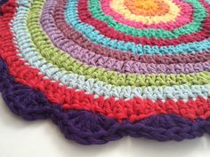 Karen's #Crochet Mandalas For Marinke From Lancaster, UK + #depressionawareness