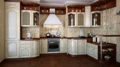 "Kitchen Cabinet Design ""Anzhelika"""