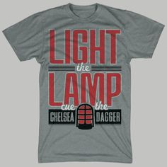 Chicago Blackhawks Light The Lamp T-Shirt by chitownclothing