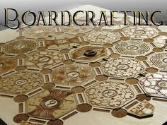 Wood frame and beautifully detailed pieces for Settlers of Catan. Support production of this idea at KickStarter.com