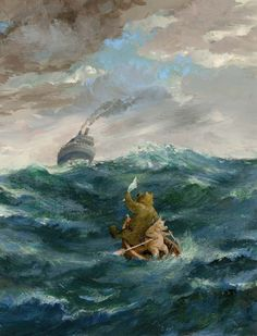 Rudi Hurzlmeier *Lord Brummel auf hoher See (Nach Honolulu)*