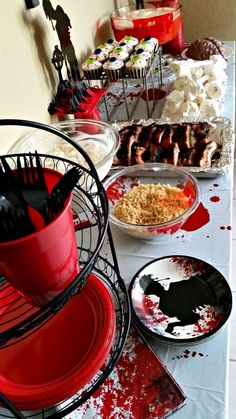 The walking dead 25 recipes and crafts for a zombie approved party zombie fun easy diy terminus walking dead party forumfinder Images