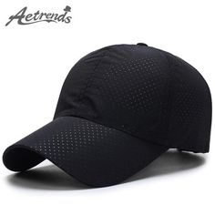 Fashion  BestPrice AETRENDS Men Women Summer Snapback Quick Dry Mesh  Baseball Cap Breathable Hat 26d763aa64dd