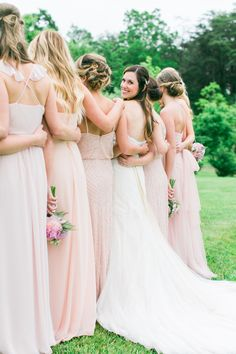 Beautiful spring wedding at Veritas Winery, Virginia | Melissa Barrick Photography #loveletterbrides