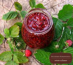 Dulceata de zmeura Jam Recipes, Appetizer Recipes, Appetizers, Romanian Food, Pinterest Recipes, Food Styling, Pickles, Gem, Good Food