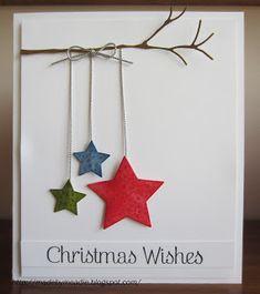 Beautiful, simple Christmas card