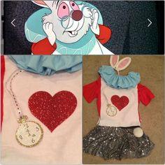 The White Rabbit, Alice in Wonderland, runDisney costume, My DisneySide - photo and