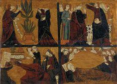 Anunciació, Nativitat, Dormició i Coronació de la Mare de Déu | Museu Nacional d'Art de Catalunya