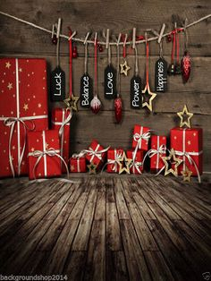 Christmas Photography Background Photo Studio Backdrop 5x7ft 202VB | eBay