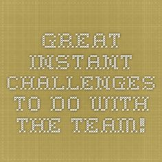 Great Instant Challenges to do with the team! Destination Imagination Instant Challenge, Odyssey Of The Mind, Challenges To Do, Simple Machines, School Ideas, Back To School, Engineering, Bob, Mindfulness