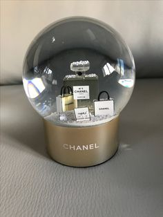 Chanel Snow Globe, I love my Snow Globe