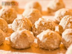 No bake PB cookie dough balls