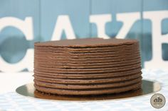 Layer cake con chocolate, nata y ganache | Alice Bakery