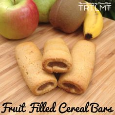 Fruit Filled Cereal Bars - The Road to Loving My Thermo Mixer