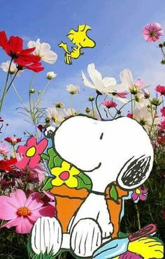Snoopy makes me smile