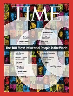 Anche quest'anno da #Time arriva la classifica delle 100 persone più influenti del mondo, tra facili previsioni e insospettabili...