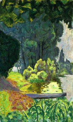 'Barque au bord de la Seine' by French Post-Impressionist painter Pierre Bonnard (1867-1947). via Paper Images