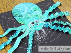 A week of spiders {How do you fit it all in?}