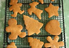 The Parsimonious Princess: Only in December -- The Best Gingerbread Cookie Recipe