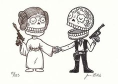 Day of the Dead Han Solo! You're my only hope!