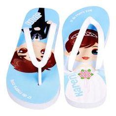 Abanicos personalizados en tela con varillaje de madera o plástico. Sandalias de EVA personalizadas en tela. Impresión a todo color. ¡Somos fabricantes!