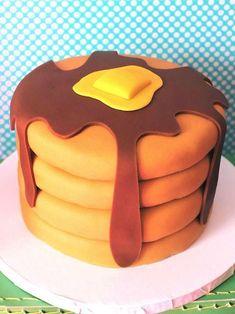 Pancakes cake