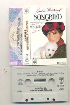 "Barbra Streisand - ""Songbird"" (1978), dutch cassette"